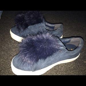 Sam Edelman puffball sneakers